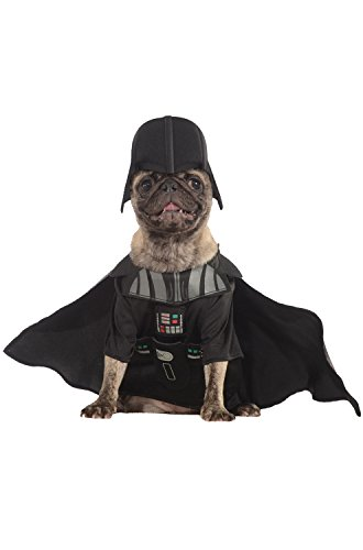 Rubie's Star Wars Collection Pet Costume, Medium, Darth Vader