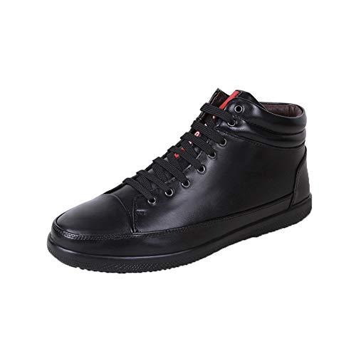 Blackvelvet Lazo Delantero Zapatos Ayuda Juventud Ocio ll Más Los Zapatillas Solos Alta Respirable Whl De Antideslizante Terciopelo Hombres fO6Tw6