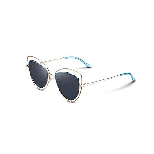 libre sol UV Protección de conducción sol de para al excursionista polarizadas Retro sol UV400 aire Protección Gafas de sol de Gafas Personalidad de mujer Gafas Gray Frame Gafas Regalo nuevas Estrella de d Gafas Gold z5XwqxgBg