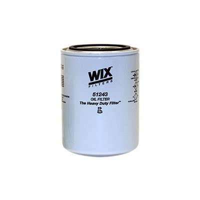WIX Filters - 51243 Heavy Duty Spin-On Lube Filter, Pack of 1: Automotive