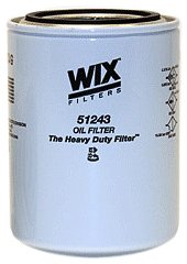 Wix 51243 Spin-On Lube Filter, Pack of 1