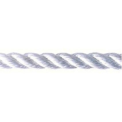 Amazon com : 3M Buccaneer Rope Twisted Dock & Mooring Line, 20