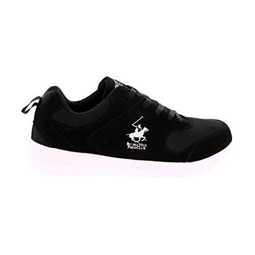 Beverly Hills Polo Club - Mens Mesh Nb Jog Sneakers Svart / Vit