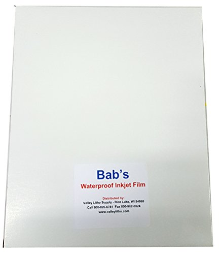 Premium Waterproof Inkjet Film 13'' x 19'' - 100 Sheets by VLS