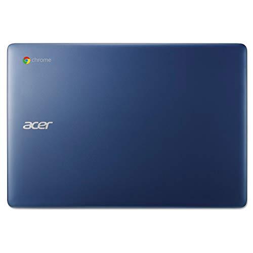 "Acer Chromebook 14, Intel Celeron N3160, 14"" Full HD Display, 4GB LPDDR3, 32GB eMMC, 802.11ac WiFi, Protective Sleeve, Wireless Mouse, CB3-431-C539"