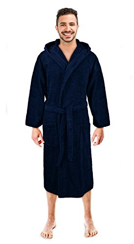 Top 10 recommendation hooded robes for men soft 2018  f24e3959d