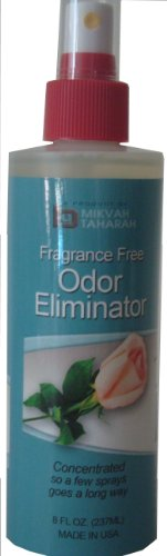 Fragrance Free Odor Eliminator 8 Oz Spray (Clean Air Odor Free Diaper)