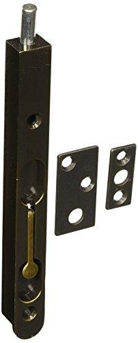 Deltana 7FBZ5 Zinc 7-Inch Flush Bolt (Flush Bolts Doors)