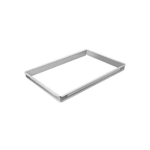 Focus Foodservice FSPA1116 Half Sheet Pan Extender, Aluminum, 18 inch x 13 inch x 2 inch Extender Size