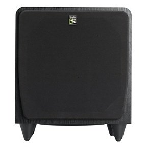 Sunfire SDS8 8'' 400W Black Home Theater Sub Powered Subwoofer Sound System