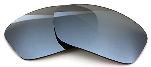 77a8c5cf4f7 Polarized Ikon Iridium Replacement Lenses for Oakley Turbine Sunglasses -  Silver Chrome Mirror