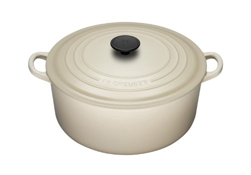 Le Creuset Enameled Cast-Iron 3-1/2-Quart Round French Oven, Dune