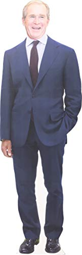 Aahs Engraving President George W. Bush Life Size Carboard Stand Up, 6 feet (Bush Cardboard Cutout)