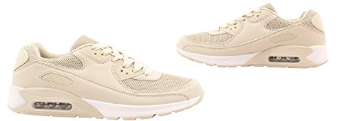 Elara , Baskets pour femme - Beige - beige, 37 EU