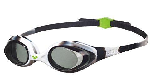 Arena 92338-black White-Clear Spider Jr. anteojos de natación