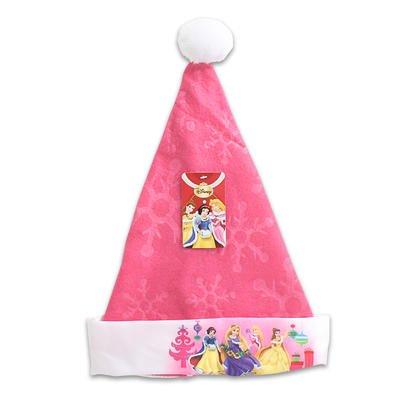 Princess Disney Christmas Xmas Santa Felt Hat 16 Inch