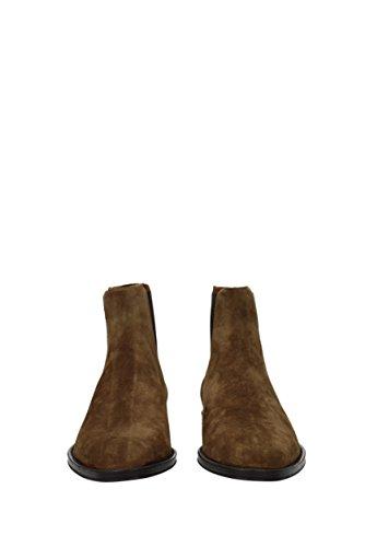 Givenchy Stivali Da Uomo Caviglia - Camoscio (bm08393945) Eu Marrone