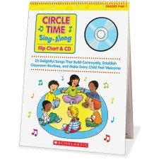 - Scholastic Circle Time Sing-Along Flip Chart & CD Education Printed/Electronic Book by Paul Strausman - -0439635241