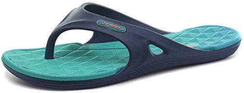 Rider - Sandalias de Material Sintético para mujer azul marino