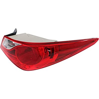 Tail Light for HYUNDAI SONATA 2011-2014 RH Outer Assembly Bulb Type: Automotive