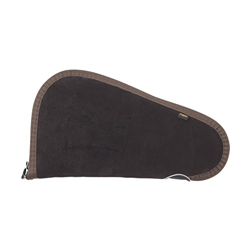 Allen Suede Handgun Case, Brown (Allen Pistol)