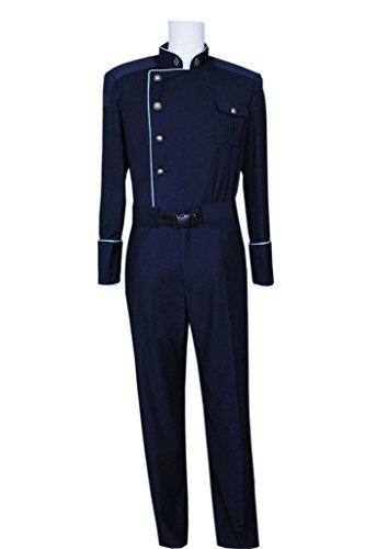 (Fancy Style FancyStyle Battlestar Cosplay Commander Officer Costume Blue Male)