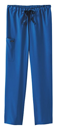 Classic Fit Collection by Jockey Unisex Drawstring Elastic Pant Medium Royal Blue