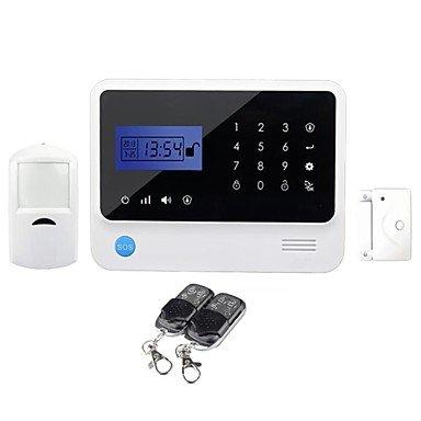 DENG Sistema de Alarma GSM con teclado táctil Domótica GS ...