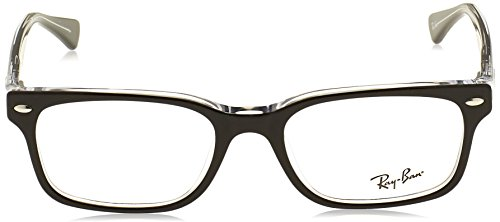Women's Transparent Top Rx5286 Black Ray ban On Eyeglasses w6nAP
