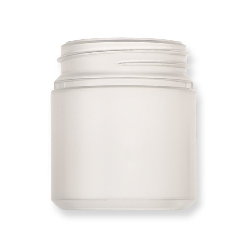 Qosina 99880 HDPE Wide Neck Jar, Round, 250mL Capacity (Pack of 25) by Qosina (Image #1)