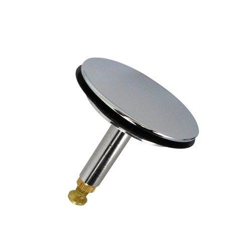 Ventilstopfen 43,8 mm Durchmesser aus verchromten Messing mit verstellbarer Hubstange / Ersatzteil / Dichtungsring / Stopfen / Ventilkegel