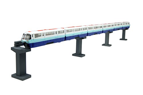 Monorail Series - Fujimi 1/150 Structure Kit Series No.10 Tokyo Monorail 50th anniversary history train opened in 1964 specification(Japan imports)
