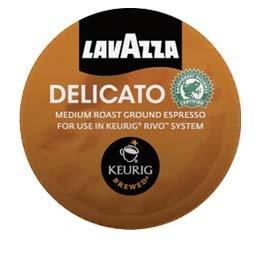 Lavazza Espresso Delicato Keurig Rivo Pack, 72 Count