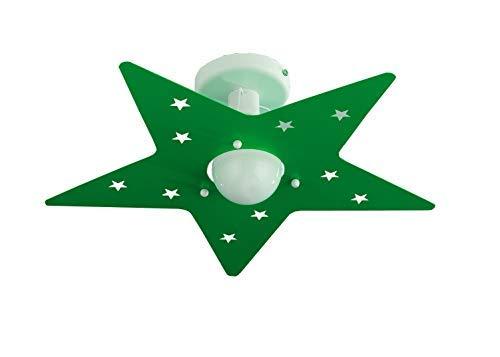 Applique per camerette verde mela stella stanzette bambini amazon
