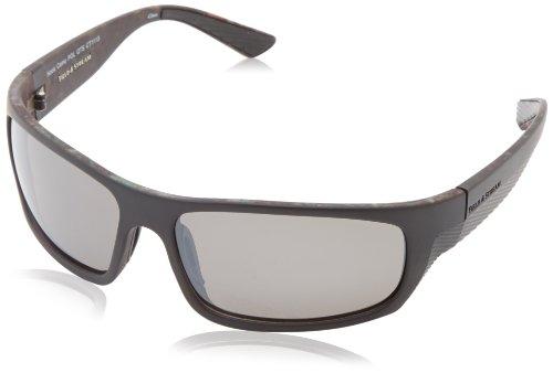 Field & Stream Hook Polarized Wrap Sunglasses,Black,64 - Field Sunglasses Stream And