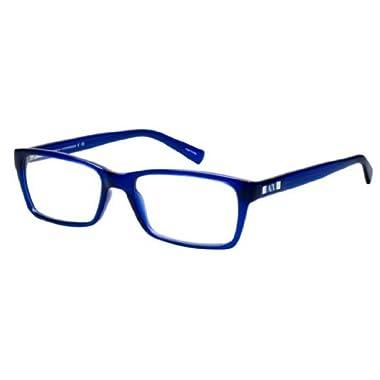 9d2919920ce Armani Exchange AX3007 Eyeglass Frames 8018-53 - Marine Transparent  AX3007-8018-53