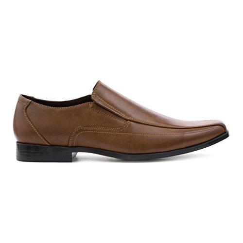 BECKETT CORP. Beckett Mens Tan Slip On Shoe Brown hB9I98D2r