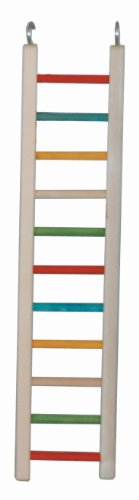 Paradise Toys 24-Inch Wood Cockatiel Ladder
