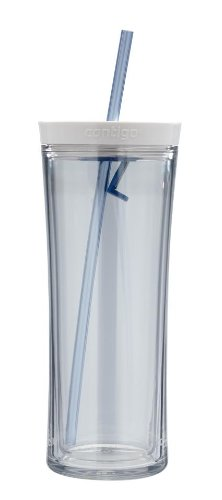 Contigo Autoclose Shake and Go Tumbler, 20-Ounce, Clear