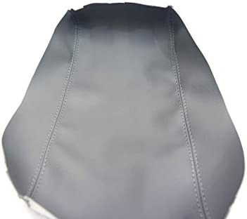 Armrest Center Console Lid Cover Synthetic Leather For 10-12 Lexus ES350 Gray