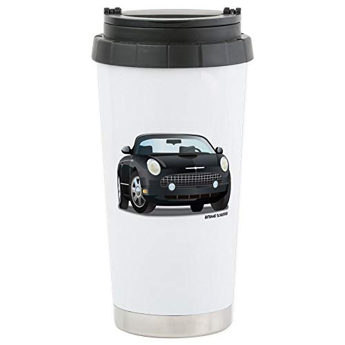- CafePress 2002 05 Ford Thunderbird Blk Stainless Steel Trave Stainless Steel Travel Mug, Insulated 16 oz. Coffee Tumbler