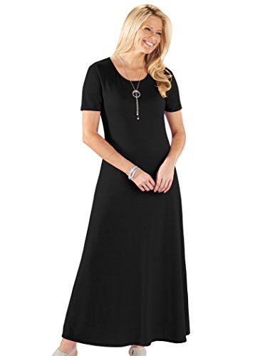 Black Maxi AmeriMark Knit AmeriMark Dress Knit gqBUBzH