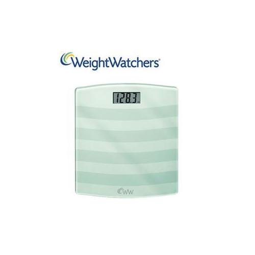 Weight Watchers WW24WY Black Digital Weight Watchers Glass Scale