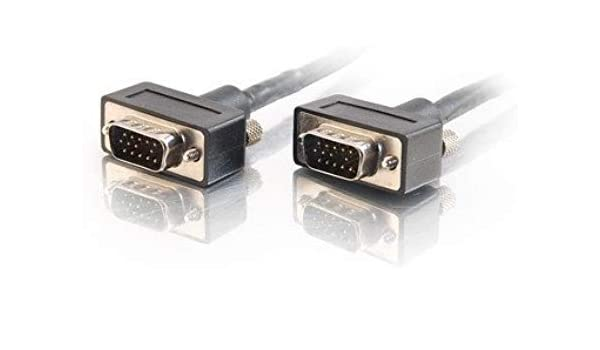 25 Feet, Black C2G//Cables to Go 40548 Plenum-Rated Component Video Cable M//M with Low Profile Connectors