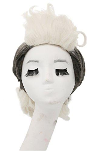 Coslive Storm Munroe Wig Hair Cosplay Costume Accessories Halloween (X Men Storm Halloween Costume)