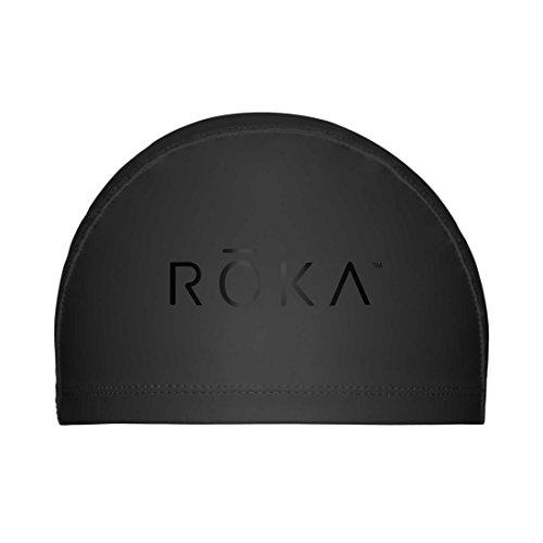 ROKA Thermal PU-Coated Nylon Swimming Cap - - Thermal Cap Swim