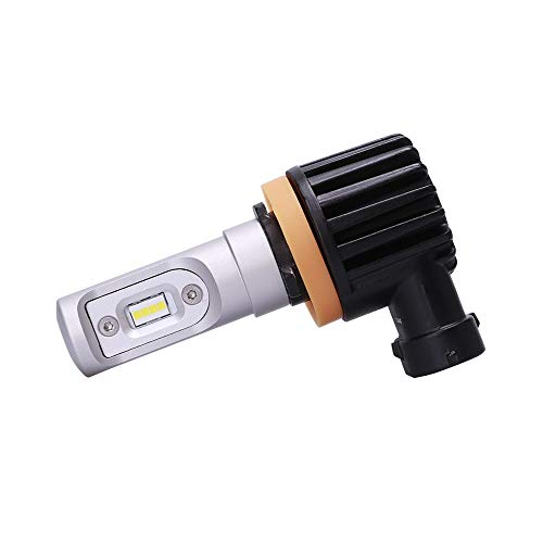 H8 | H9 | H11 | H16 | WeissLicht ATOM LED Bulbs | 6000K | 4000 Lumens ...