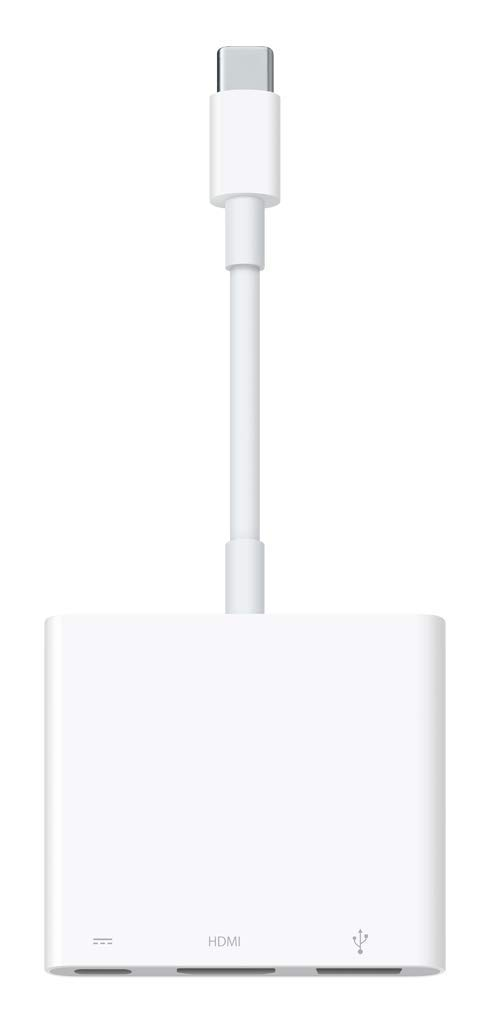 Apple USB-C Digital AV Multiport Adapter (Renewed)