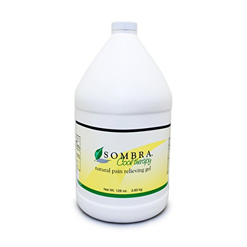 Sombra Cool Therapy Natural Relieving Gel, One Gallon, 128-Ounce by Sombra