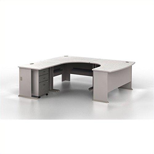 - Bush Business Series A 4-Piece U-Shape Left-Hand Corner Computer Desk